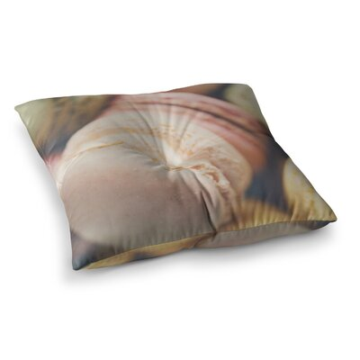 Laura Evans Macaroon Goodness Food Square Floor Pillow Size: 26