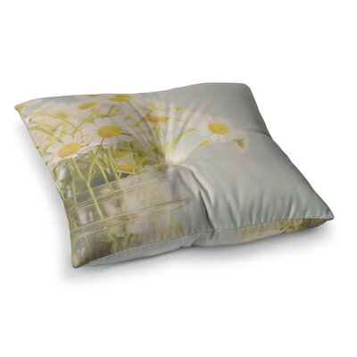 Laura Evans O Daisy Square Floor Pillow Size: 23 x 23