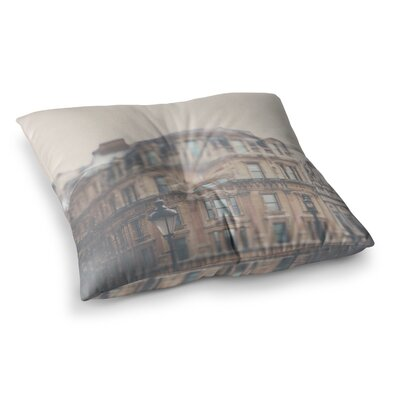 Laura Evans London Town Square Floor Pillow Size: 23 x 23