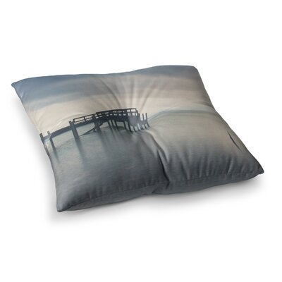 Laura Evans Waiting for The Storm To Pass Square Floor Pillow Size: 23 x 23