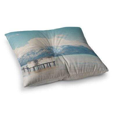 Laura Evans Down by The Lake Square Floor Pillow Size: 23 x 23