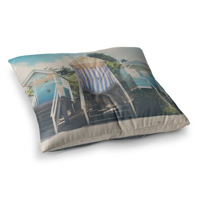 Laura Evans Wells Next The Sea Photography Square Floor Pillow Size: 23 x 23