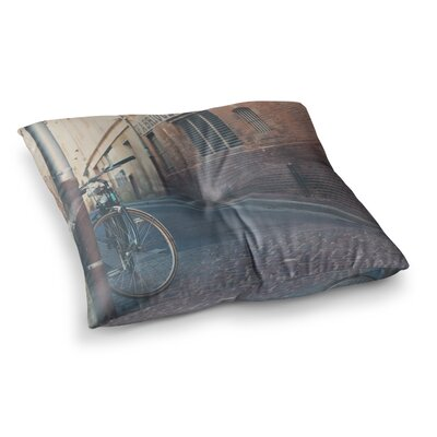 Laura Evans The Streets of Albi Photography Square Floor Pillow Size: 23 x 23