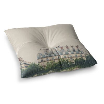 Laura Evans Parisian Apartments Photography Square Floor Pillow Size: 23 x 23
