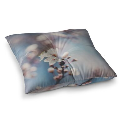 Laura Evans Spring Blossoms Photography Square Floor Pillow Size: 26 x 26