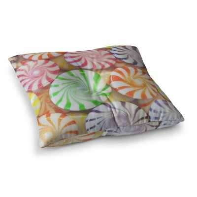Libertad Leal I Want Candy Square Floor Pillow Size: 23 x 23