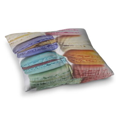 Libertad Leal I Want Macaroons Square Floor Pillow Size: 23 x 23