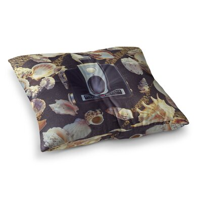 Libertad Leal The Four Seasons Summer Square Floor Pillow Size: 26 x 26