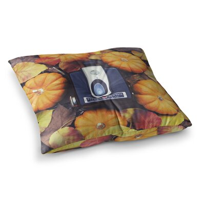 Libertad Leal The Four Seasons Fall Square Floor Pillow Size: 26 x 26