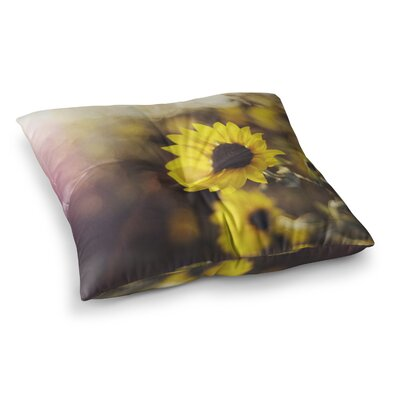 Libertad Leal Magic Light Flower Square Floor Pillow Size: 23 x 23
