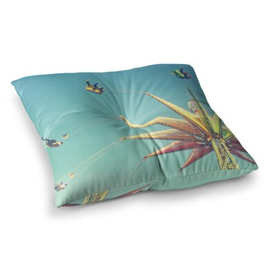Libertad Leal Flying Chairs Square Floor Pillow Size: 26 x 26