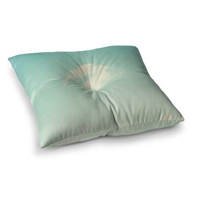 Libertad Leal Cloud 9 Sky Square Floor Pillow Size: 26 x 26