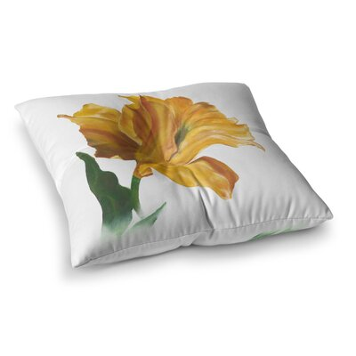 Lydia Martin Tulip Square Floor Pillow Size: 26 x 26