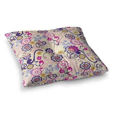 Louise Machado Arabesque Square Floor Pillow Size: 26 x 26
