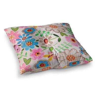 Louise Machado The Garden Square Floor Pillow Size: 26 x 26