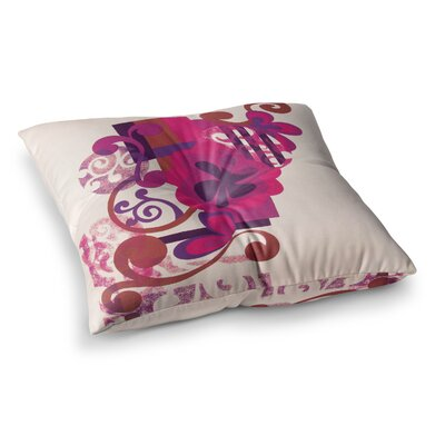 Louise Machado Lilac Square Floor Pillow Size: 26 x 26