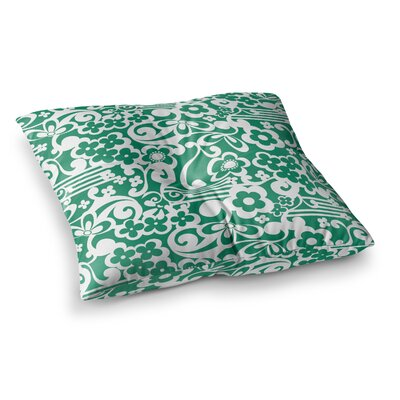 Louise Machado Esmerald Square Floor Pillow Size: 23 x 23