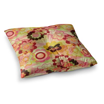 Louise Machado Colorful Mix Square Floor Pillow Size: 23 x 23