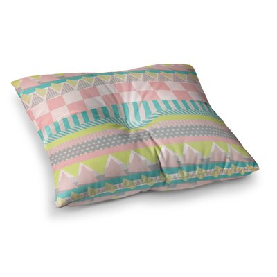 Louise Machado Luna Pattern Square Floor Pillow Size: 23 x 23