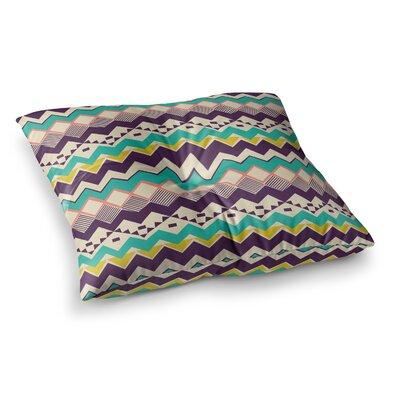 Louise Machado Ethnic Color Square Floor Pillow Size: 23 x 23