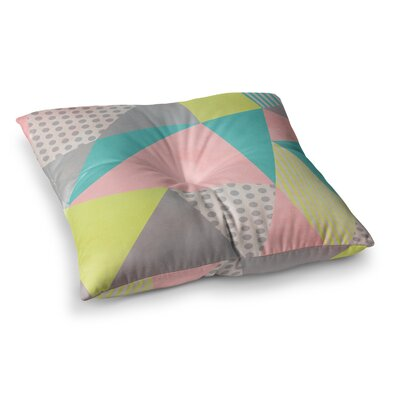 Louise Machado Geometric Square Floor Pillow Size: 26 x 26