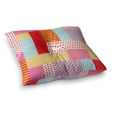 Louise Machado Geometric Pop Square Floor Pillow Size: 23 x 23