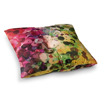 Louise Machado Spots Sparkle Square Floor Pillow Size: 26 x 26
