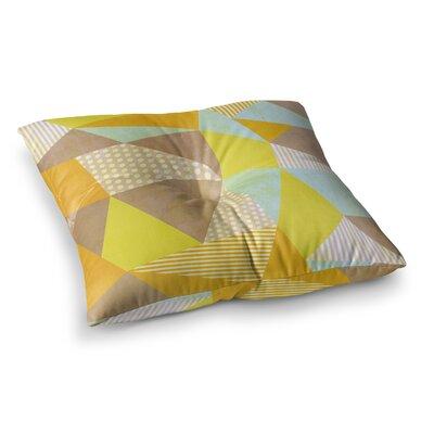 Louise Machado Geometric Square Floor Pillow Size: 26 x 26