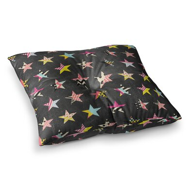 Louise Machado Dancing Stars Square Floor Pillow Size: 23 x 23