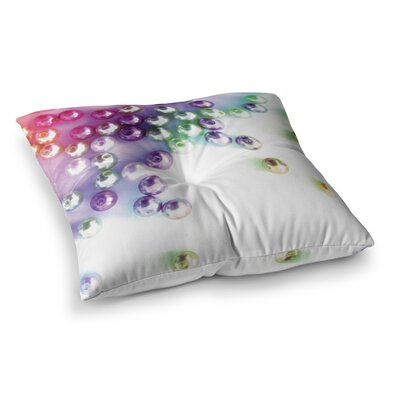 Louise Machado Pearl Square Floor Pillow Size: 23 x 23