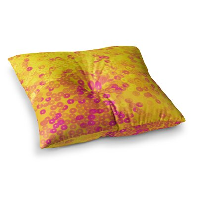 Louise Machado Dots Mixed Square Floor Pillow Size: 26 x 26