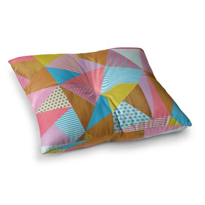 Louise Machado Cycle Chic Vector Square Floor Pillow Size: 23 x 23