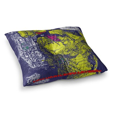 Lazar Milanovic Composition Square Floor Pillow Size: 26 x 26