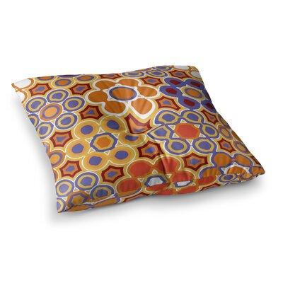 Laura Nicholson Flower Garden Square Floor Pillow Size: 26 x 26