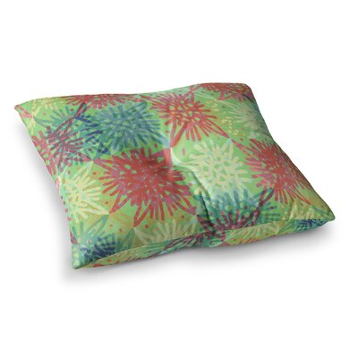 Laura Nicholson Multi Lacy Square Floor Pillow Size: 26 x 26
