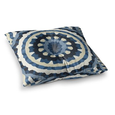 Laura Nicholson Ribbon Mandala Square Floor Pillow Size: 26 x 26