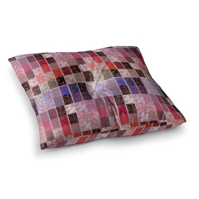 Laura Nicholson Tiles Square Floor Pillow Size: 26 x 26