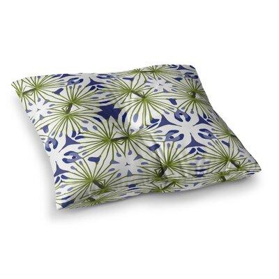 Laura Nicholson Thalia Floral Square Floor Pillow Size: 26 x 26
