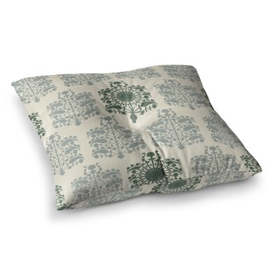 Laura Nicholson Samaarkkand Ethnic Square Floor Pillow Size: 23 x 23