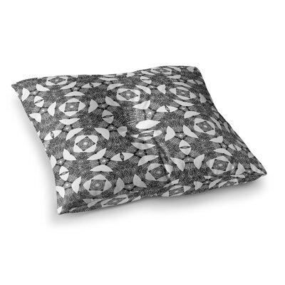 Laura Nicholson Twiggy Boxes Geometric Square Floor Pillow Size: 23 x 23
