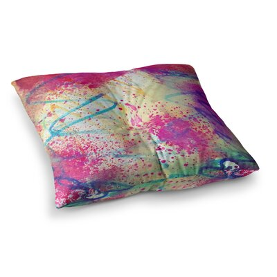 Liz Perez Rainbow Square Floor Pillow Size: 23 x 23