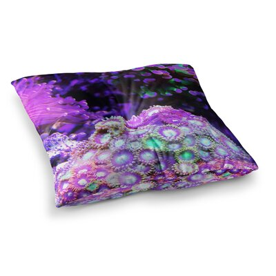 Liz Perez Reef Square Floor Pillow Size: 23 x 23