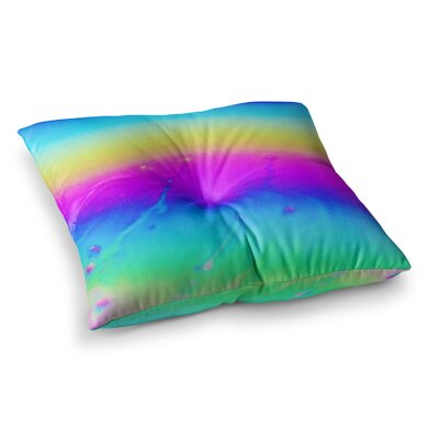 Liz Perez Soul Digital Square Floor Pillow Size: 23 x 23