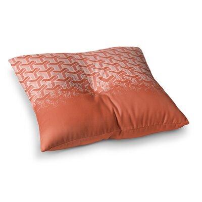 Just L No Yard Square Floor Pillow Size: 26 x 26, Color: Orange