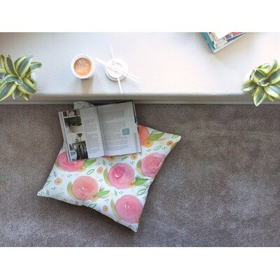 Li Zamperini Florsle Square Floor Pillow Size: 23 x 23