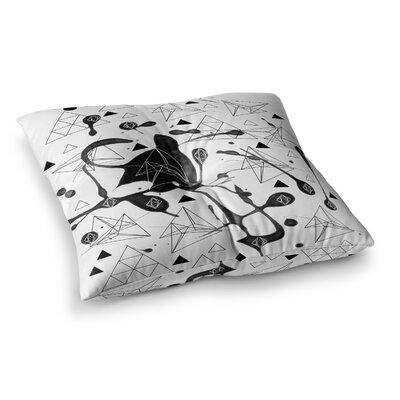 Li Zamperini Geometric Square Floor Pillow Size: 23 x 23
