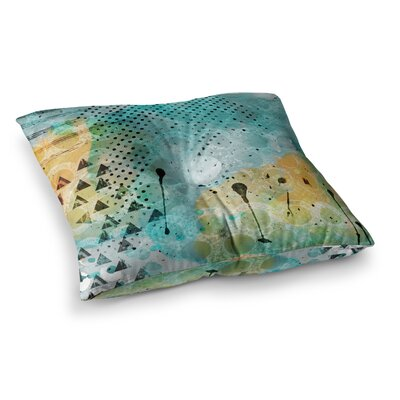 Li Zamperini Jump Square Floor Pillow Size: 26 x 26
