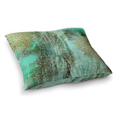 Li Zamperini Land Square Floor Pillow Size: 26 x 26
