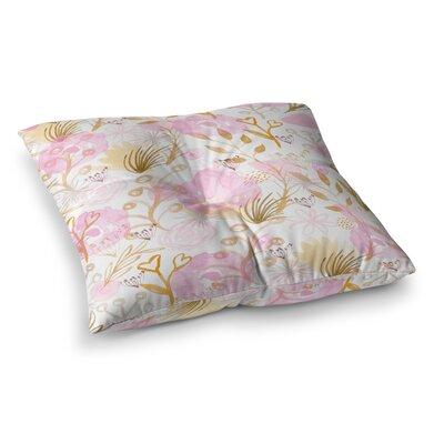 Li Zamperini Spring Time Square Floor Pillow Size: 26 x 26