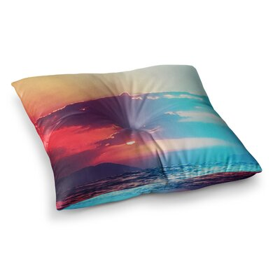 Li Zamperini Summer Square Floor Pillow Size: 23 x 23